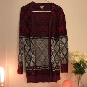 Knit Tribal Cardigan